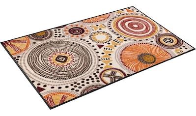 wash+dry by Kleen-Tex Teppich »Boho Style«, rechteckig, 7 mm Höhe, In- und Outdoor geeignet, waschbar, Wohnzimmer kaufen