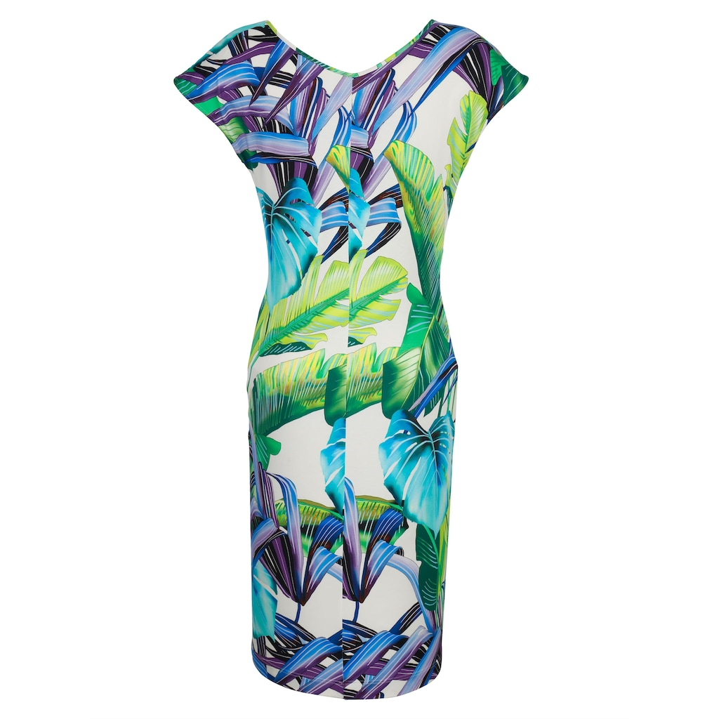 Alba Moda Strandkleid mit Raffung