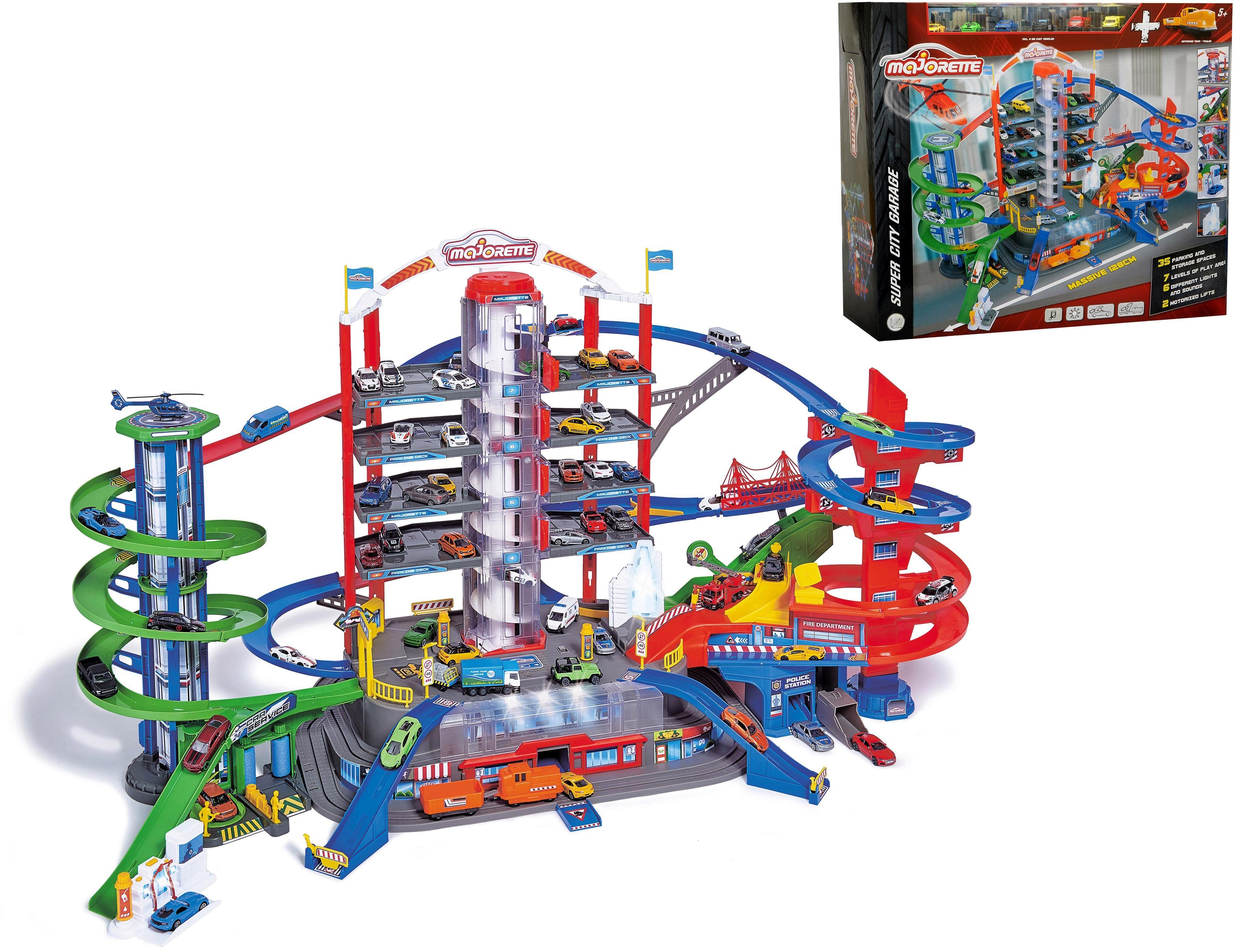 """Dickie Toys Spiel-Parkgarage """"Super City Garage"""" Technik & Freizeit/Spielzeug/Autos, Eisenbahn & Modellbau/Spielzeugautos/Zubehör für Spielzeugautos"""