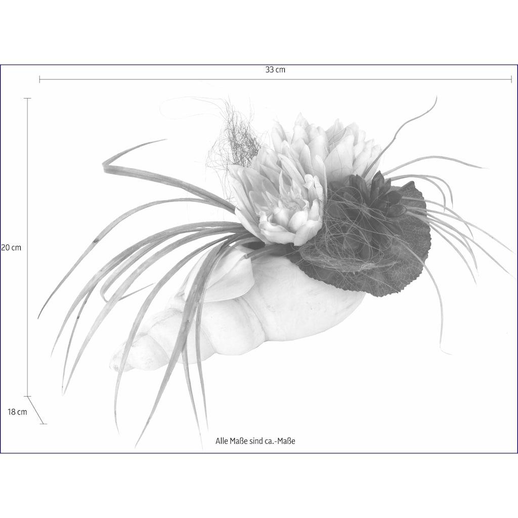 I.GE.A. Kunstpflanze »Gesteck Seerose in Muschel«