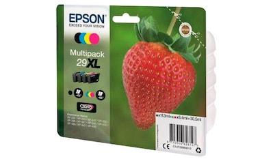 Epson Tintenpatrone »T2996, 29XL Original Kombi-Pack Schwarz, Cyan, Magenta, Gelb C13T29964012« kaufen