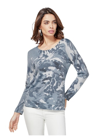 création L Pullover im Camouflage - Muster kaufen