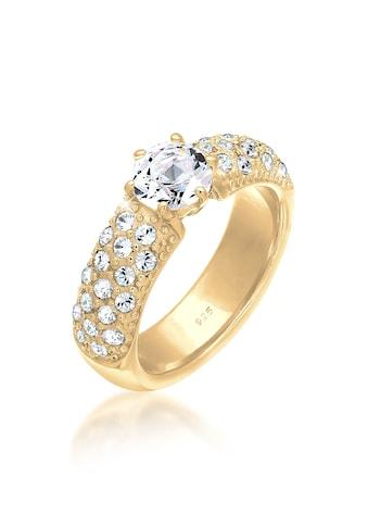 Elli Fingerring »Verlobungsring Swarovski® Kristalle 925 Silber« kaufen