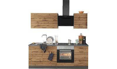 HELD MÖBEL Küchenzeile »Trier«, mit E-Geräten, Breite 210 cm kaufen