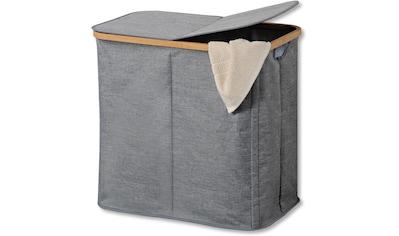 KESPER for kitchen & home Wäschesortierer, mit zwei Fächern, aus strapazierfähigem... kaufen