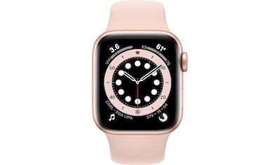 Apple Series 6 GPS, Aluminiumgehäuse mit Sportarmband 40mm Watch kaufen