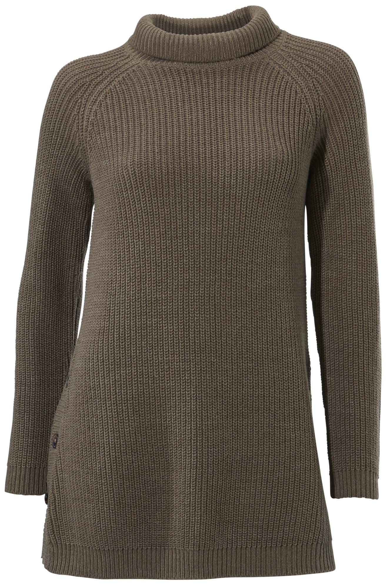 heine CASUAL Stehkragenpullover in Longform | Bekleidung > Pullover > Stehkragenpullover | Ca - Baumwolle | Heine Casual
