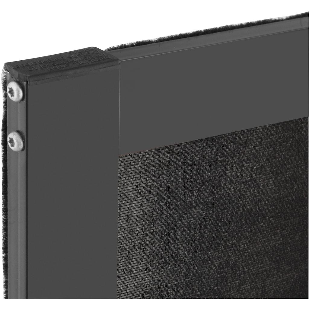 hecht international Insektenschutz-Fenster »MASTER SLIM POLLE«, anthrazit/anthrazit, BxH: 100x120 cm