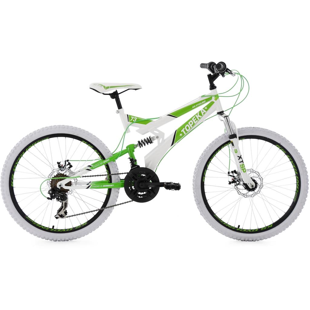 KS Cycling Jugendfahrrad »Topeka«, Kettenschaltung