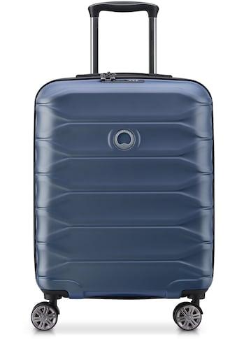 "Delsey Hartschalen - Trolley ""Meteor, 55 cm, dark blue"", 4 Rollen kaufen"