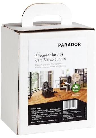 PARADOR Bodenpflegemittel »farblos Parkett«, (Set, 5 St.), für Echtholzböden kaufen
