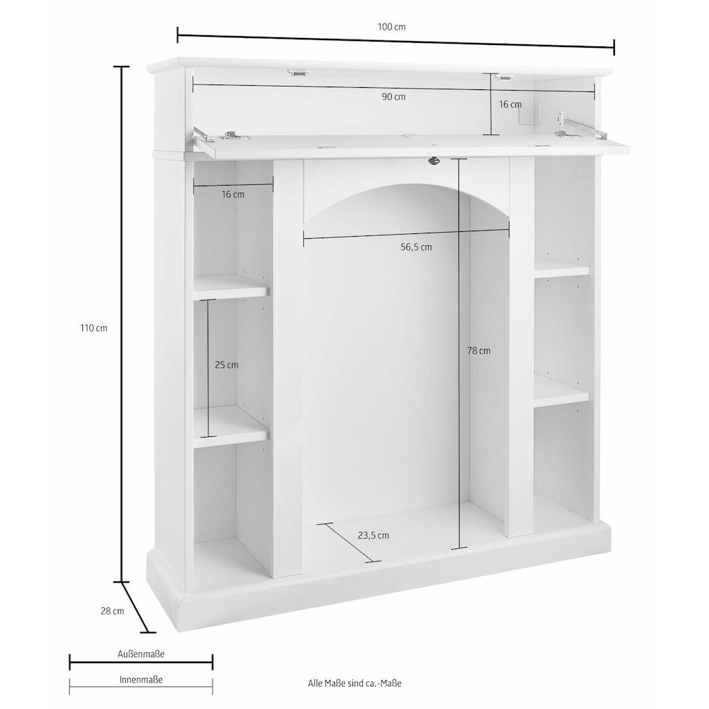 Home affaire Kaminumbauschrank, Breite 100 cm