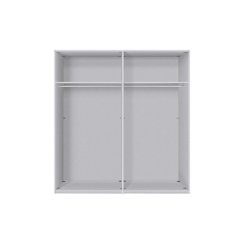 Express Solutions Schwebetürenschrank, mit Spiegel