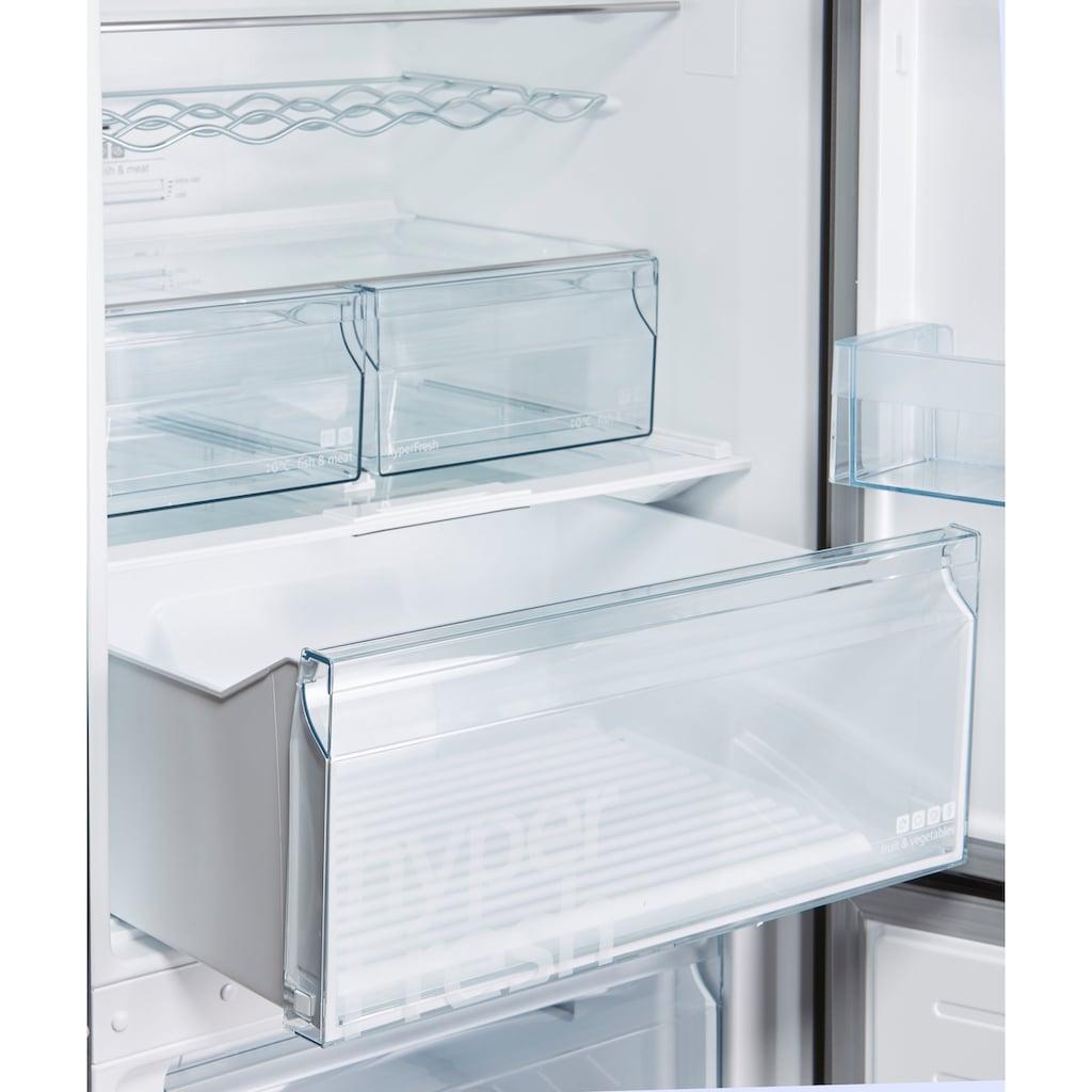 SIEMENS Kühl-/Gefrierkombination »KG49NXXEA«, KG49NXXEA, 203 cm hoch, 70 cm breit