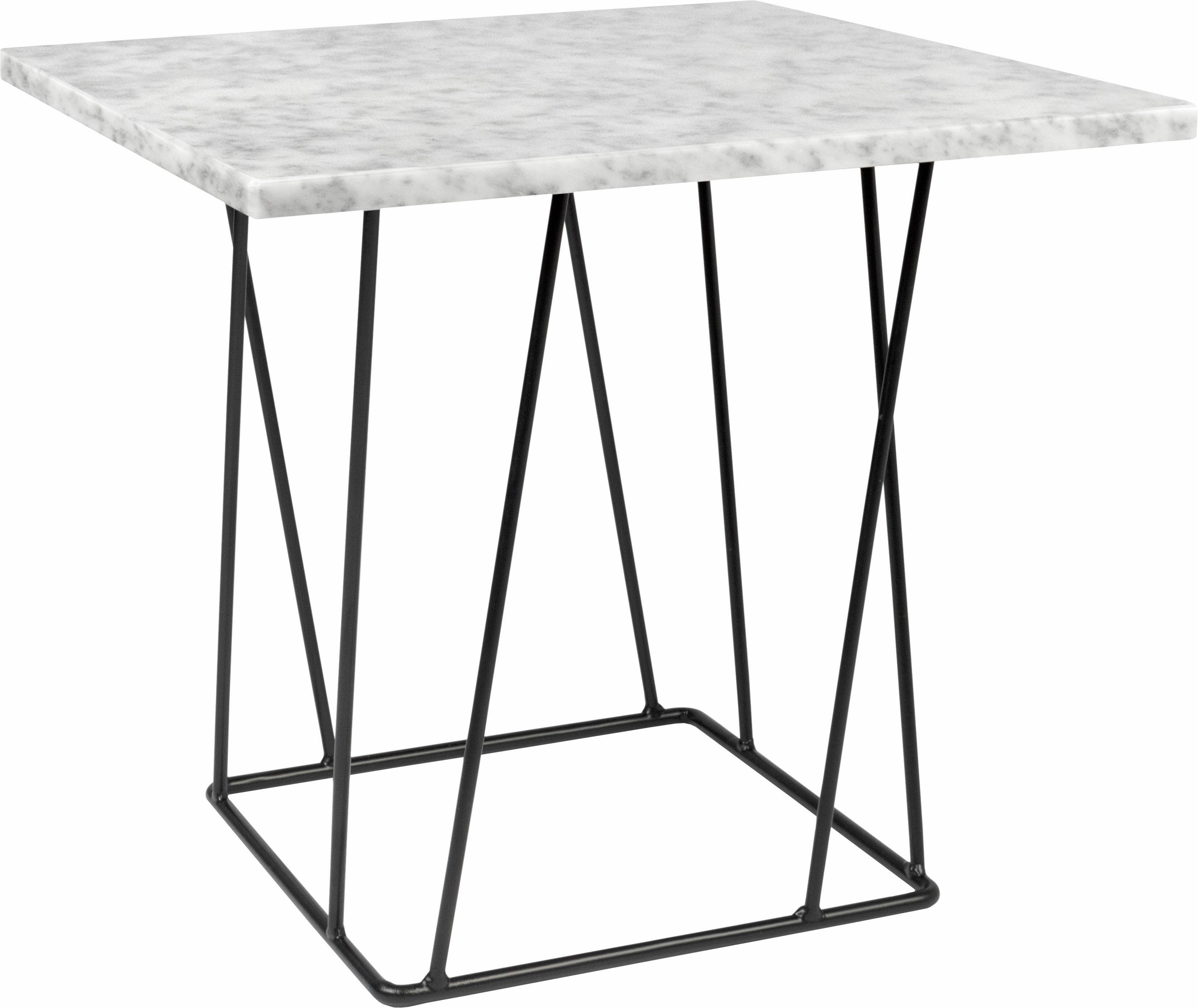 marmor-weiss-metall Beistelltische online kaufen | Möbel ...