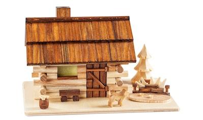 SAICO Original Räucherhaus Garten - Blockhaus kaufen