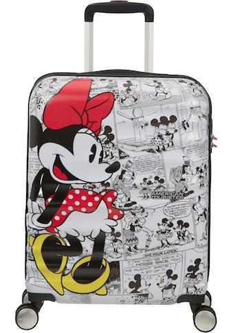 American Tourister® Hartschalen-Trolley »Wavebreaker Disney, 55 cm, Minnie White«, 4 Rollen kaufen