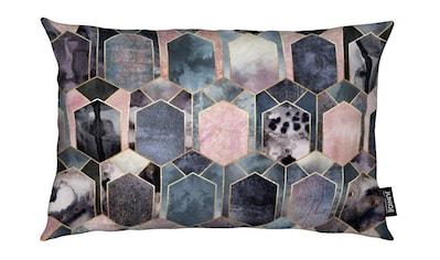 Juniqe Dekokissen »Art Deco Dream«, Weiches, allergikerfreundliches Material kaufen
