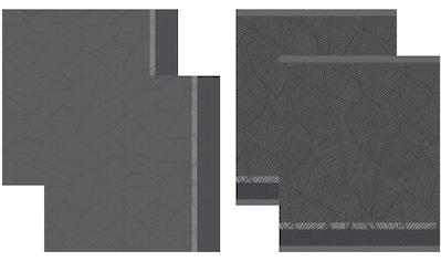 DDDDD Geschirrtuch »Barrier«, (Set, 4 tlg., Combi-Set: bestehend aus 2x Küchentuch +... kaufen