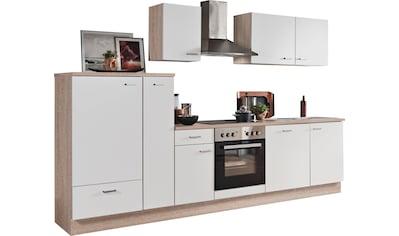 Menke Küchen Küchenzeile »Classic«, Küchenzeile mit E-Geräten, Breite 300 cm kaufen