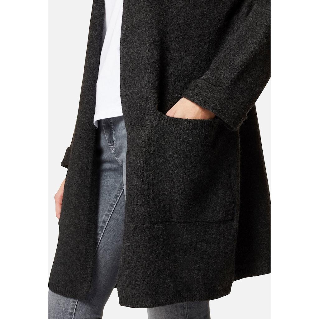 Mavi Cardigan »STRIPE CARDIGAN«, mit großen aufgesetzten Taschen
