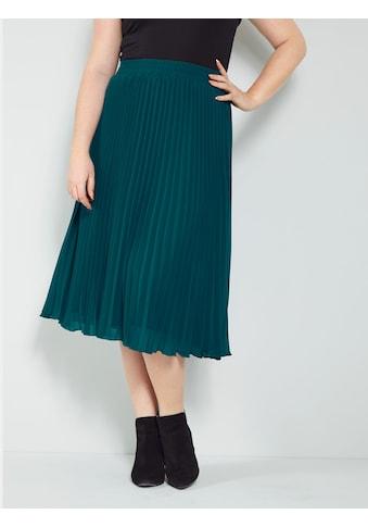 Sara Lindholm by Happy Size Plisseerock kaufen