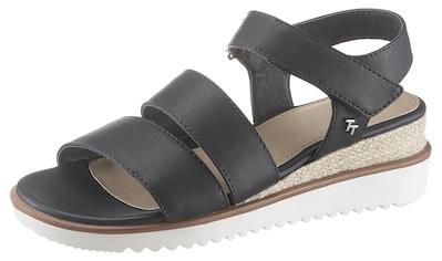 TOM TAILOR Sandalette, mit Keilabsatz kaufen