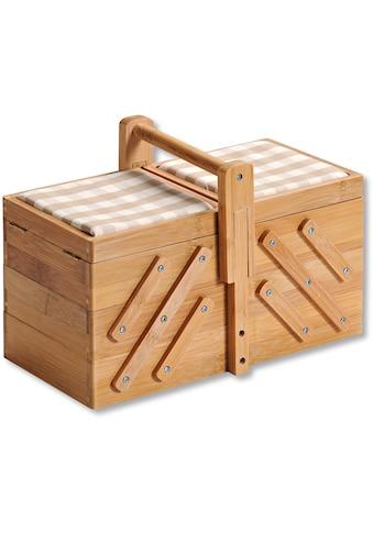 KESPER for kitchen & home Nähkästchen, FSC®-zertifizierter Bambus kaufen