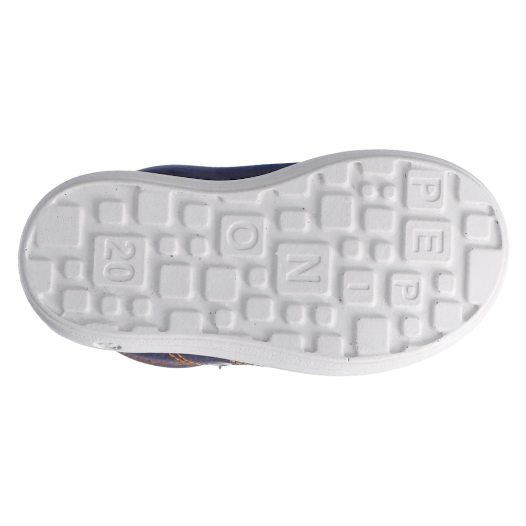 PEPINO by RICOSTA Sneaker »NIPPY - WMS-Weitenmesssystem, Weite: mittel«, mit modischer Gummikappe