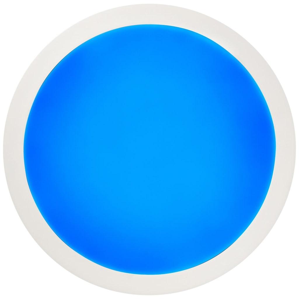 Brilliant Leuchten Abie LED Deckenaufbau-Paneel 40cm weiß