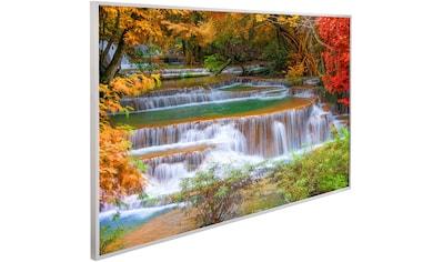 Papermoon Infrarotheizung »EcoHeat Wasserfall Regenwald«, Aluminium, 600 W, 100x60 cm,... kaufen