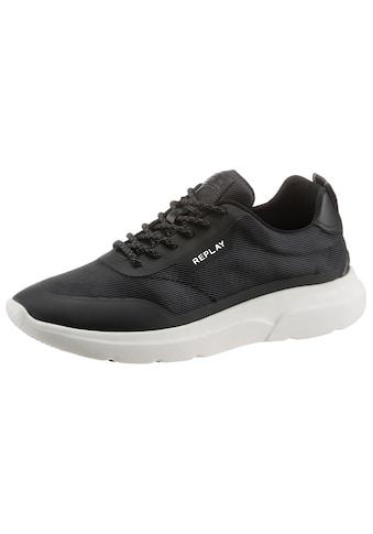 Replay Sneaker, mit kontrastfarbener Laufsohle kaufen
