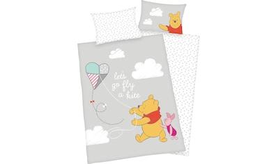 Disney Babybettwäsche »Winnie Pooh«, mit niedlichem Winnie Pooh Motiv kaufen