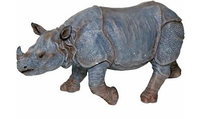Casa Collection by Jänig Tierfigur »Nashorn, Breite: 55cm, Höhe: 26cm« kaufen