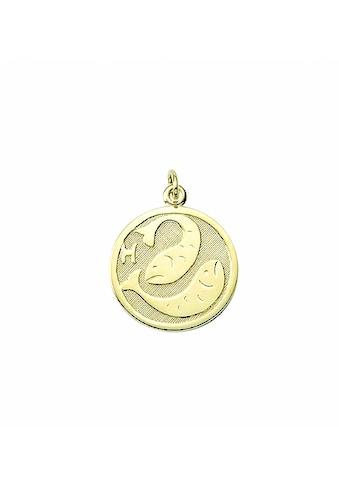 Adelia´s Kette mit Anhänger »333 Gold Sternzeichen Anhänger Fisch Ø 16 mm - Set mit... kaufen