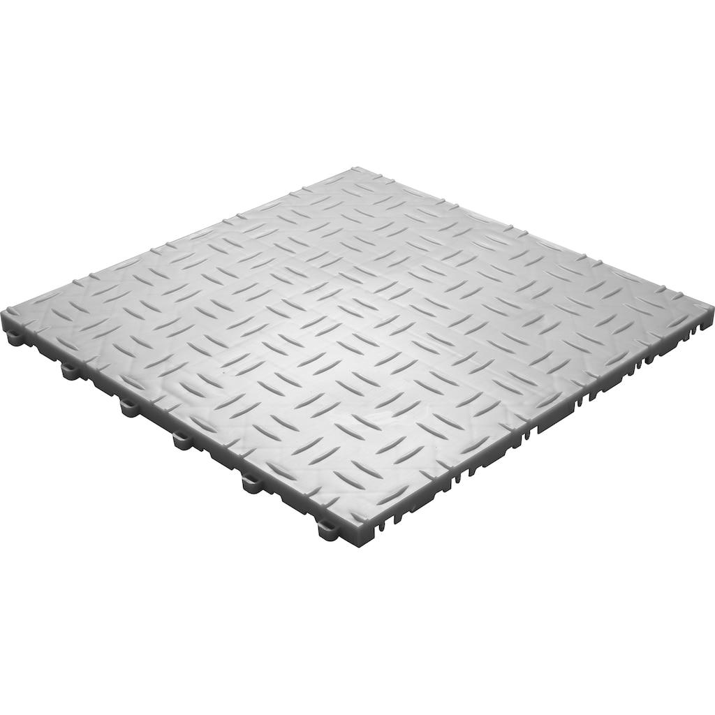 florco® Terrassenplatten »grip«, Klickfliesen