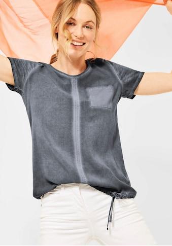 Cecil Rundhalsshirt, in melierter Optik kaufen