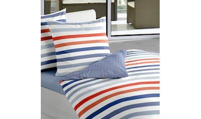 BIERBAUM Wendebettwäsche »Marine Stripes«, mit Streifen kaufen
