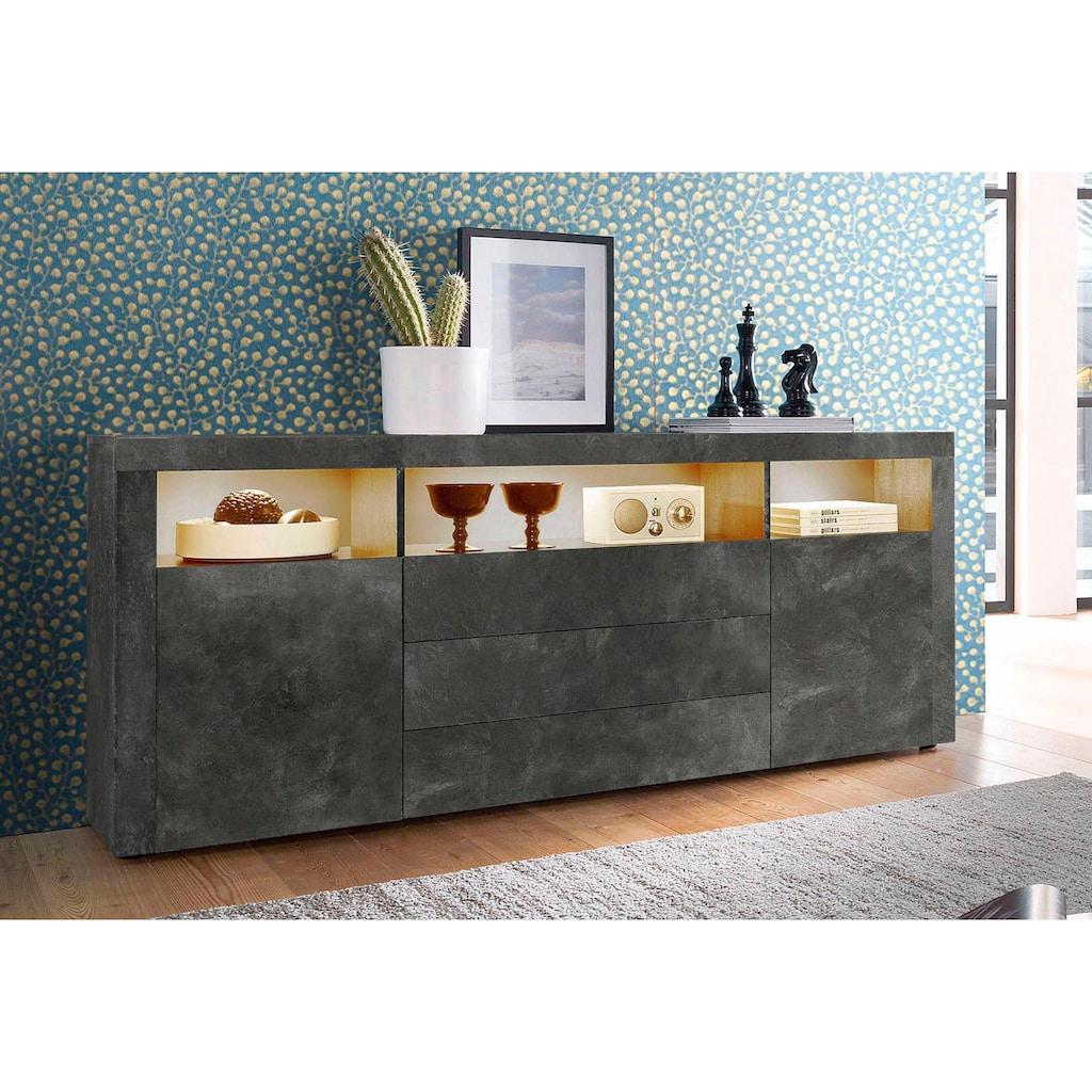 borchardt Möbel Sideboard, Breite 166 cm