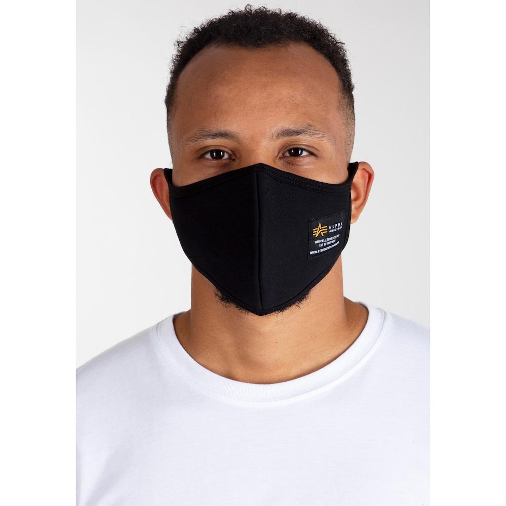 Alpha Industries Mund-Nasen-Masken