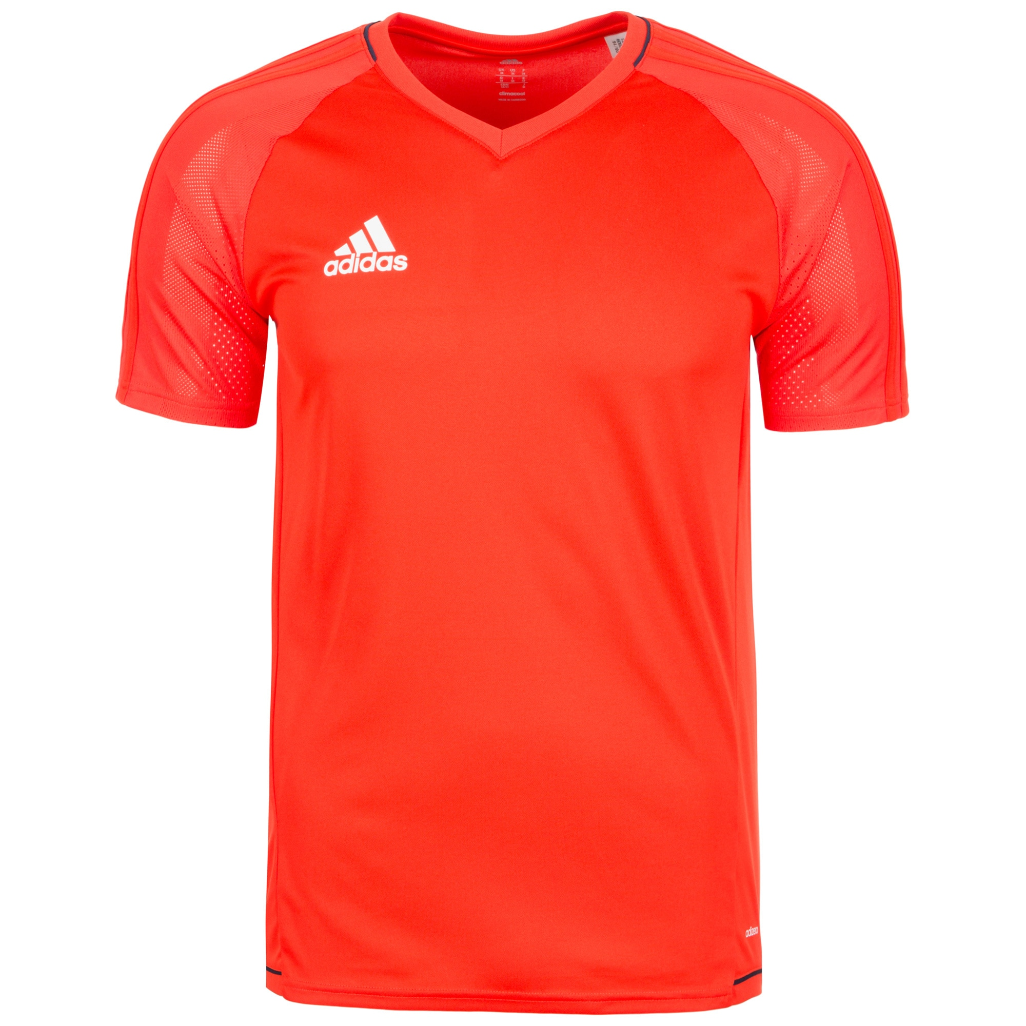 adidas Performance Trainingsshirt Tiro 17 orange Herren Sport Shirts Sportbekleidung T-Shirts