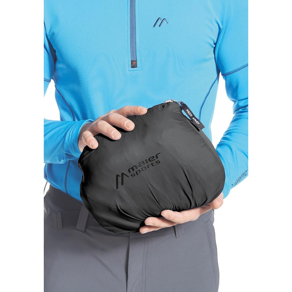 Maier Sports Funktionsjacke »Metor Therm M«, Wattiert, wasserdicht, atmungsaktiv, mit Packaway