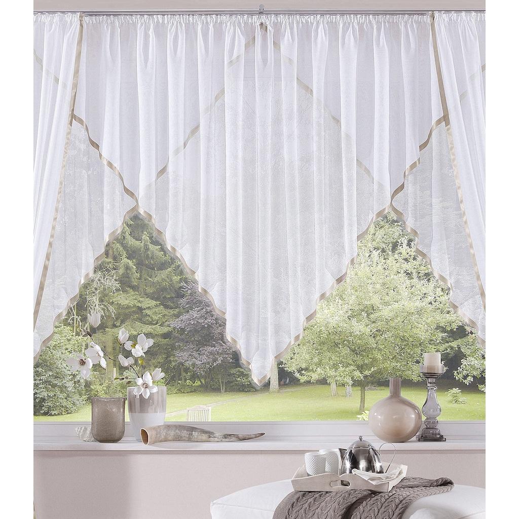 my home Kuvertstore »Volano«, Gardine, Fertiggardine, transparent