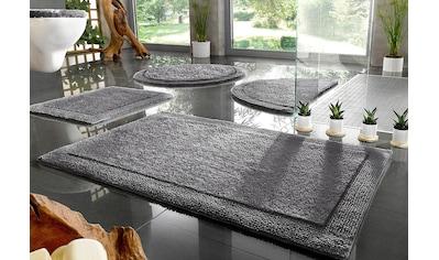 Badematte »Kapra«, Home affaire, Höhe 10 mm, beidseitig nutzbar kaufen