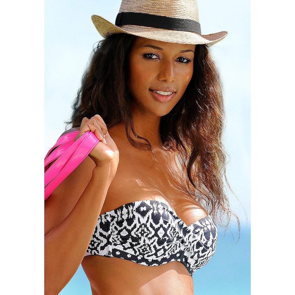 LASCANA Bandeau-Bikini-Top »Grace«, im trendigen Design