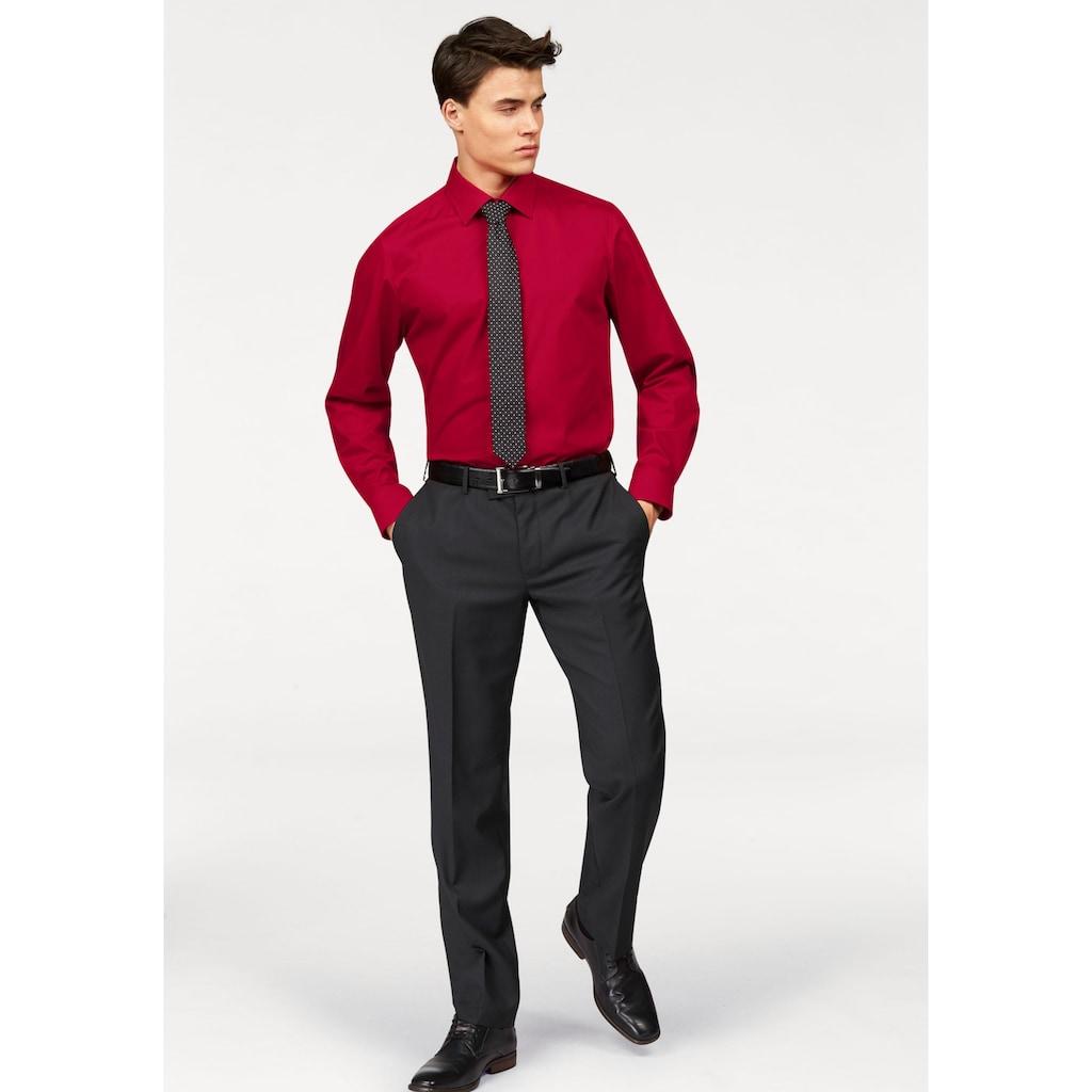 OLYMP Businesshemd »Level Five body fit«, formbeständig durch Elasthan