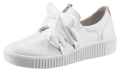 Gabor Slip-On Sneaker, mit aufgesetzter Schnürung kaufen