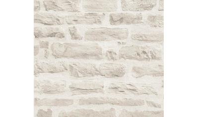 living walls Vliestapete »Best of Wood`n Stone«, Steinoptik-realistisch-urban, glatt kaufen
