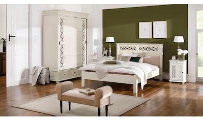 Premium collection by Home affaire Bett »Arabeske«, mit gepolsterten Kopfteil und... kaufen