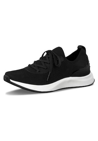 Tamaris Slip-On Sneaker »Fashletics«, mit aufgesetzter Schnürung kaufen
